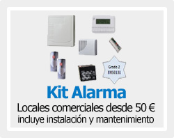 Kits Alarmas Intrusión